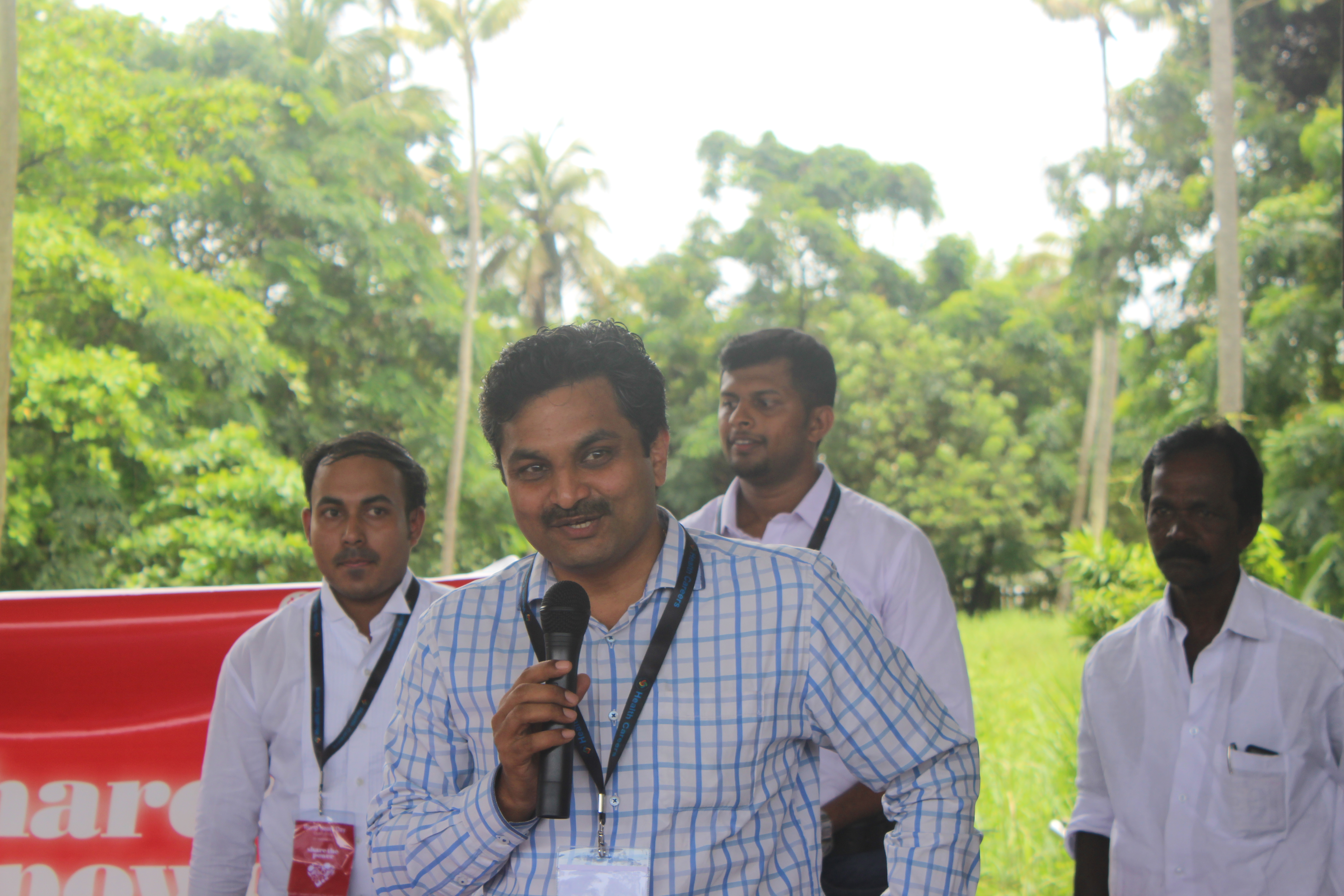 giving introductory speech by HCI Principal Mr.Jeril Cherian
