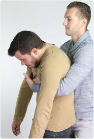 The Heimlich maneuver (abdominal thrust) is used for a client who has: