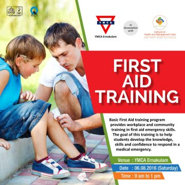 Get trained in first aid, save lives!