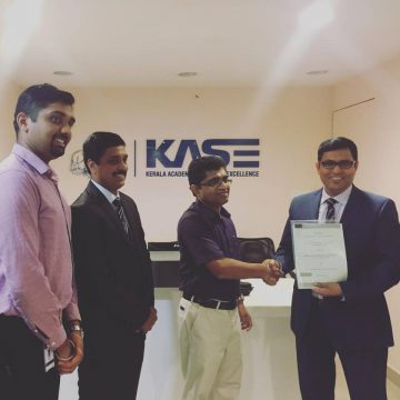 Health Careers India Signed Contract with KASE